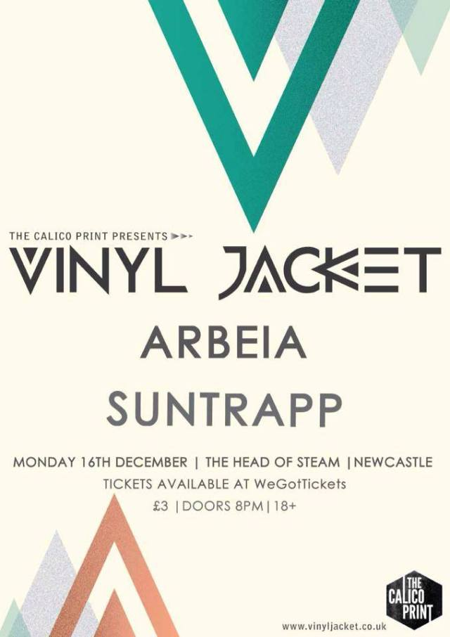 Vinyl Jacket @ The Head of Steam - Monday 16th December
